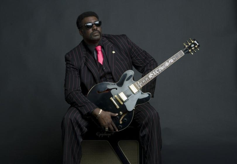 J.C. Smith (USA) with Blues Doctors!